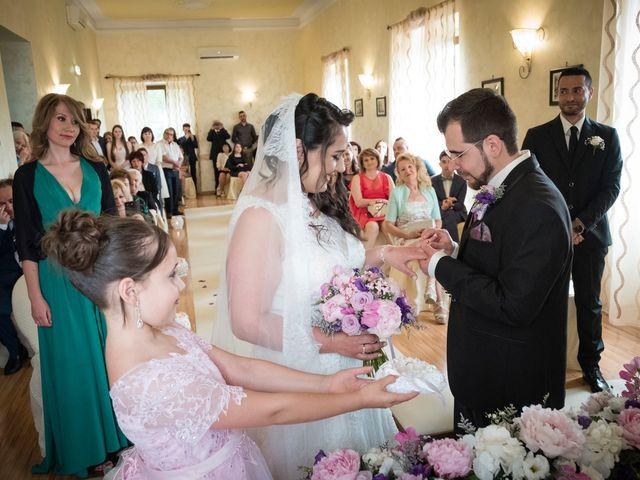 Il matrimonio di Davide e Sorina a Tocco da Casauria, Pescara 22