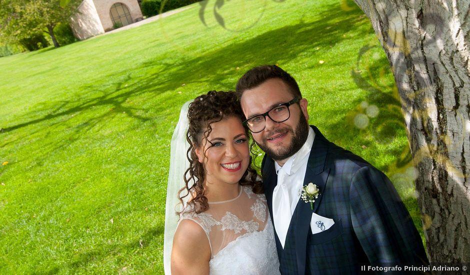 Il matrimonio di Giordano e Irene a Sant'Angelo in Pontano, Macerata