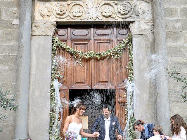 Il matrimonio di Francesco e Maurizia a Villa Basilica, Lucca 3