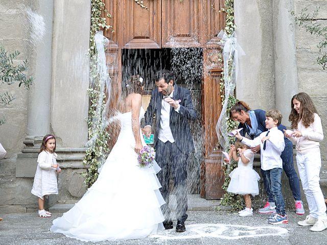Il matrimonio di Francesco e Maurizia a Villa Basilica, Lucca 4