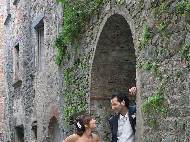 Il matrimonio di Francesco e Maurizia a Villa Basilica, Lucca 8