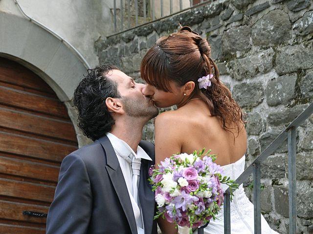 Il matrimonio di Francesco e Maurizia a Villa Basilica, Lucca 11