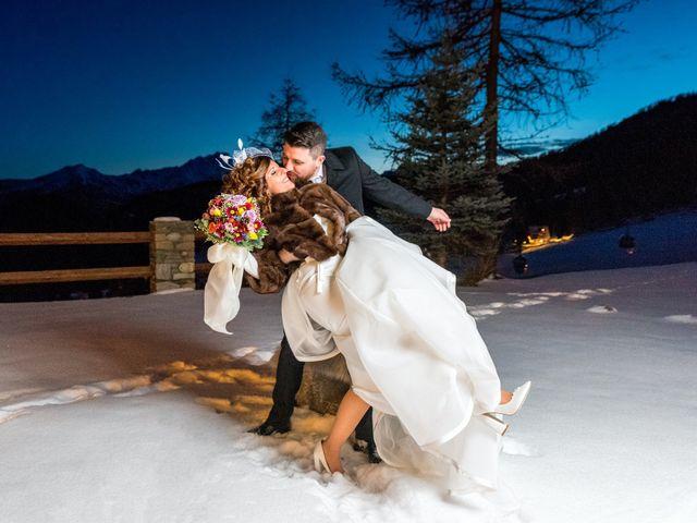 Il matrimonio di Simone e Tamara a Torgnon, Aosta 2