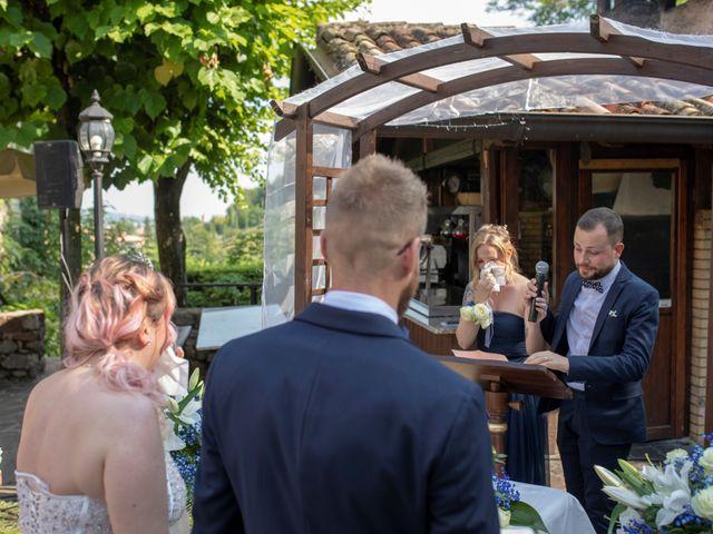 Il matrimonio di Valentino e Maristella a Costermano, Verona 1