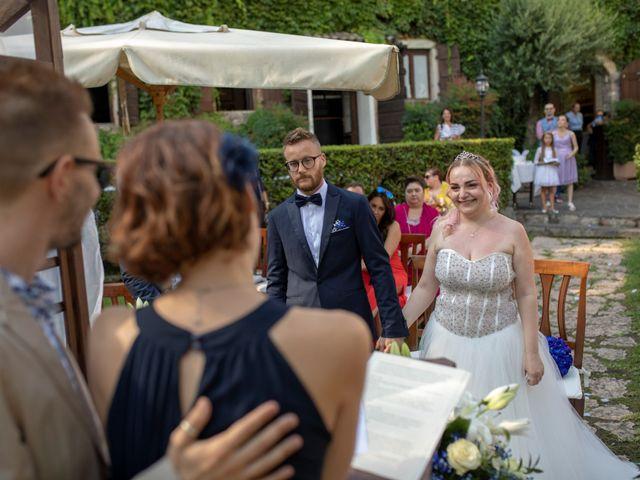 Il matrimonio di Valentino e Maristella a Costermano, Verona 2