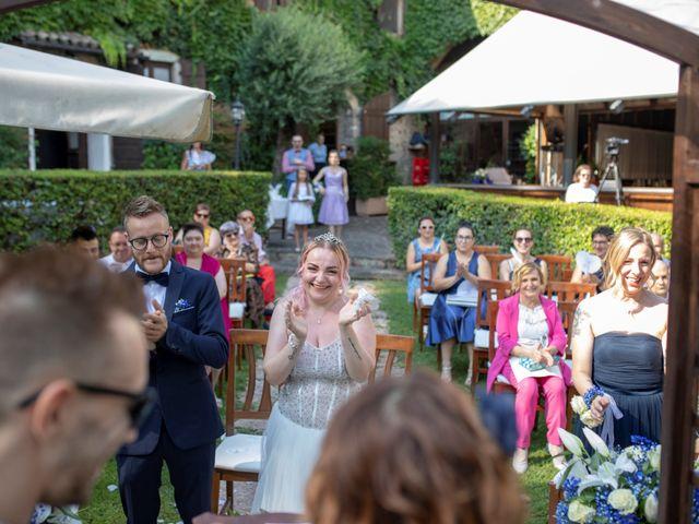 Il matrimonio di Valentino e Maristella a Costermano, Verona 4
