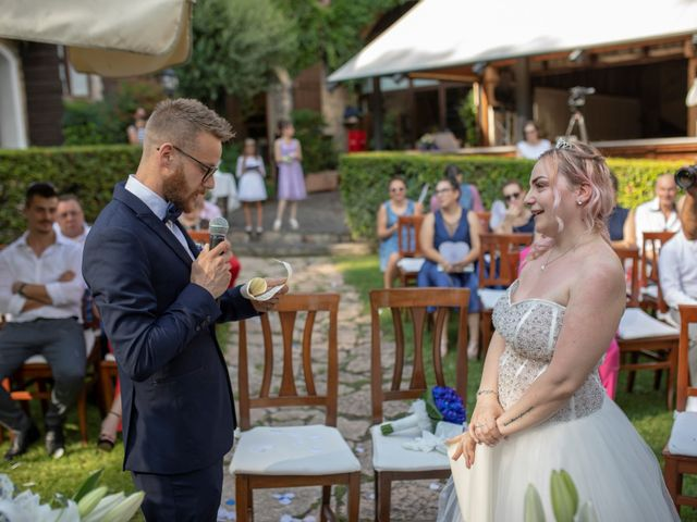 Il matrimonio di Valentino e Maristella a Costermano, Verona 5