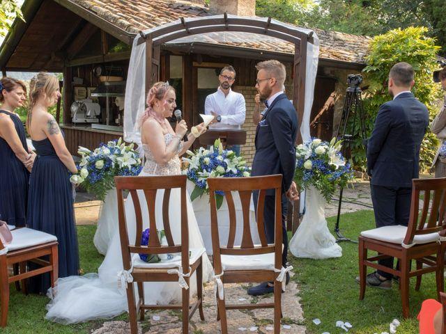 Il matrimonio di Valentino e Maristella a Costermano, Verona 6