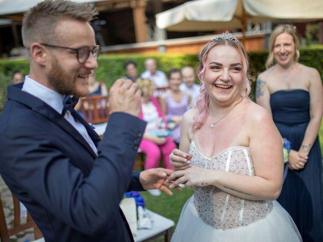 Il matrimonio di Valentino e Maristella a Costermano, Verona 7