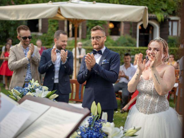 Il matrimonio di Valentino e Maristella a Costermano, Verona 8
