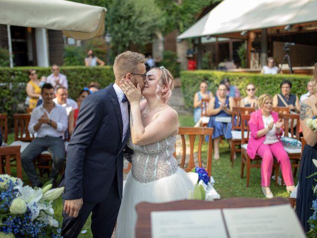 Il matrimonio di Valentino e Maristella a Costermano, Verona 9