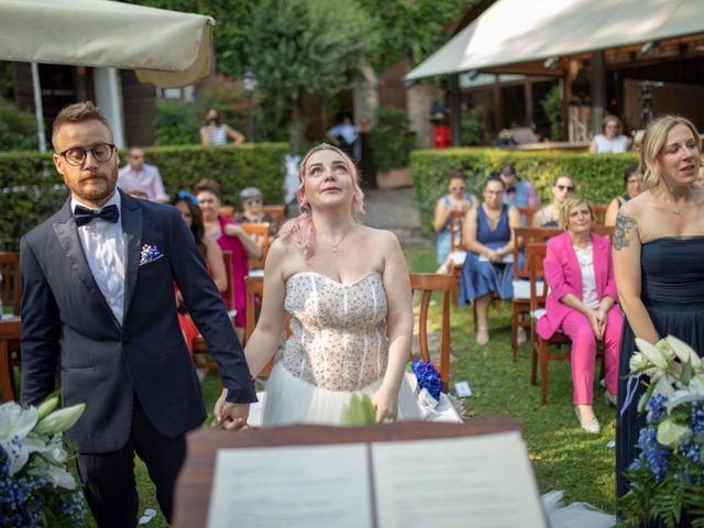 Il matrimonio di Valentino e Maristella a Costermano, Verona 10