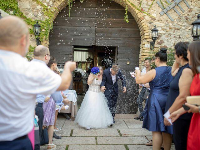 Il matrimonio di Valentino e Maristella a Costermano, Verona 11