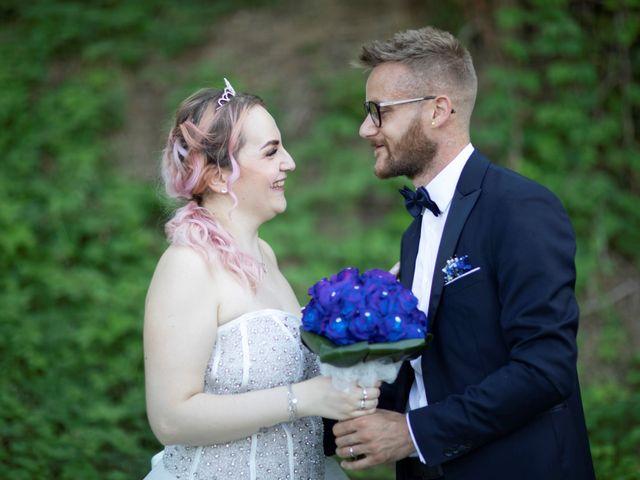 Il matrimonio di Valentino e Maristella a Costermano, Verona 14