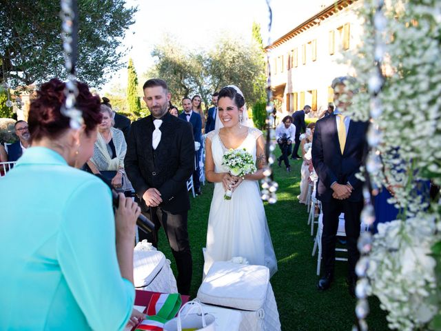 Il matrimonio di Anthea e Daniele a Gambassi Terme, Firenze 31
