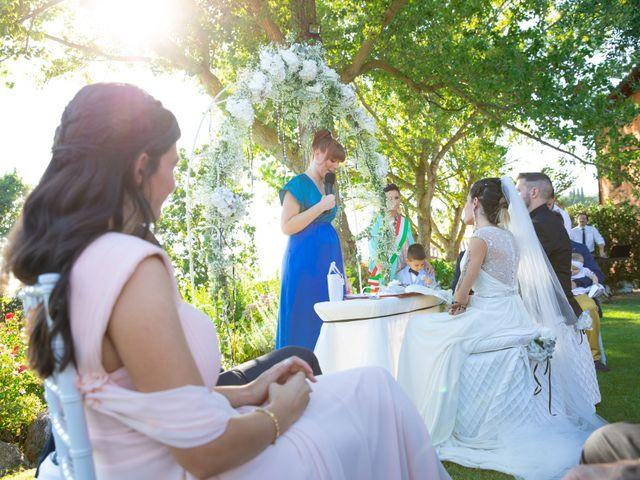 Il matrimonio di Anthea e Daniele a Gambassi Terme, Firenze 33