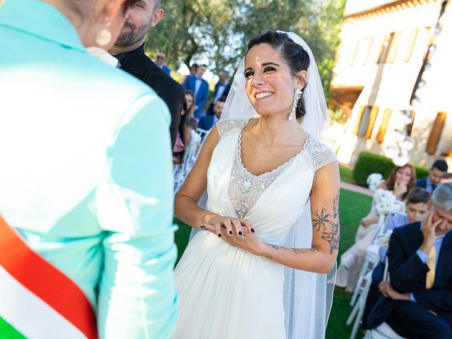 Il matrimonio di Anthea e Daniele a Gambassi Terme, Firenze 35