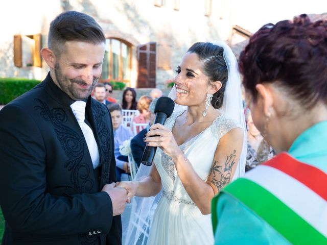 Il matrimonio di Anthea e Daniele a Gambassi Terme, Firenze 36