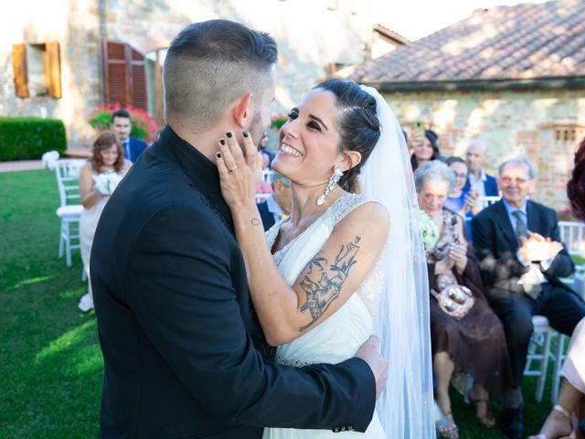 Il matrimonio di Anthea e Daniele a Gambassi Terme, Firenze 38