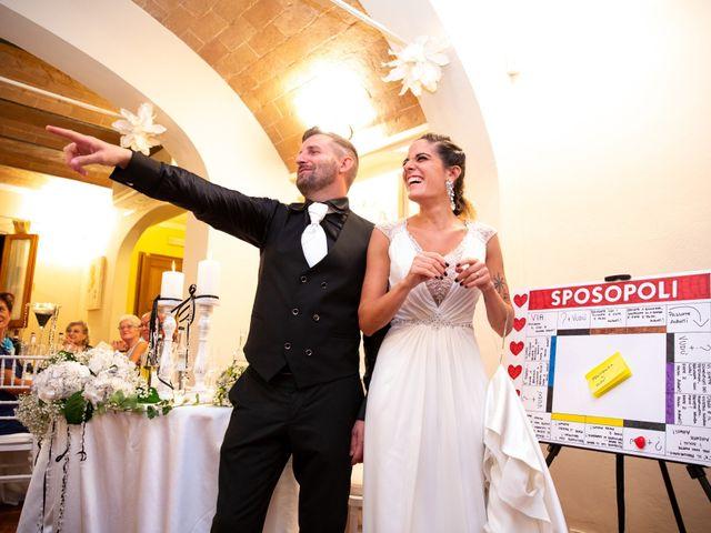 Il matrimonio di Anthea e Daniele a Gambassi Terme, Firenze 49