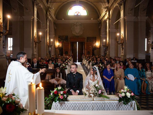 Il matrimonio di Fabio e Denise a Parma, Parma 107
