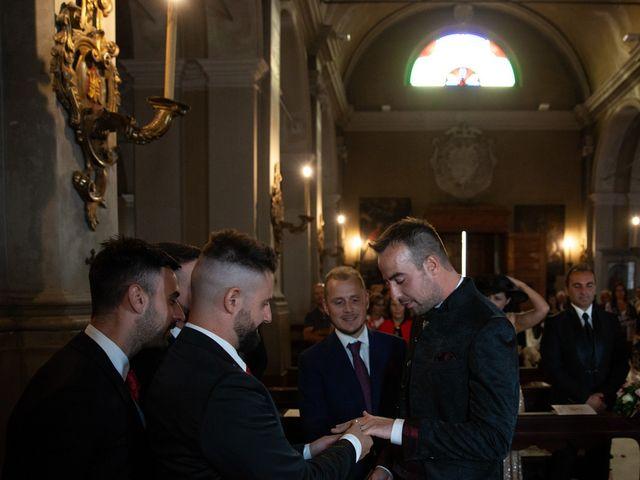 Il matrimonio di Fabio e Denise a Parma, Parma 157