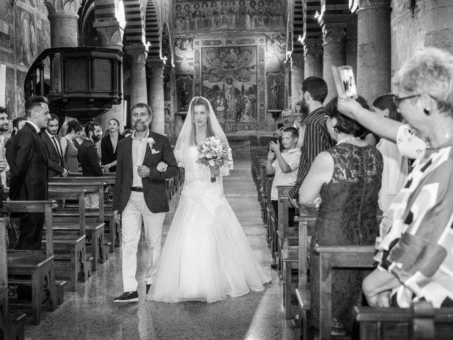 Il matrimonio di Andrea e Andreea a San Gimignano, Siena 14