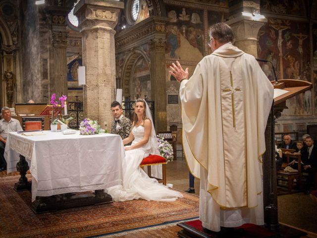 Il matrimonio di Andrea e Andreea a San Gimignano, Siena 17