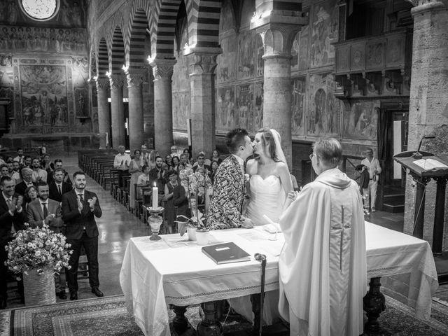 Il matrimonio di Andrea e Andreea a San Gimignano, Siena 19