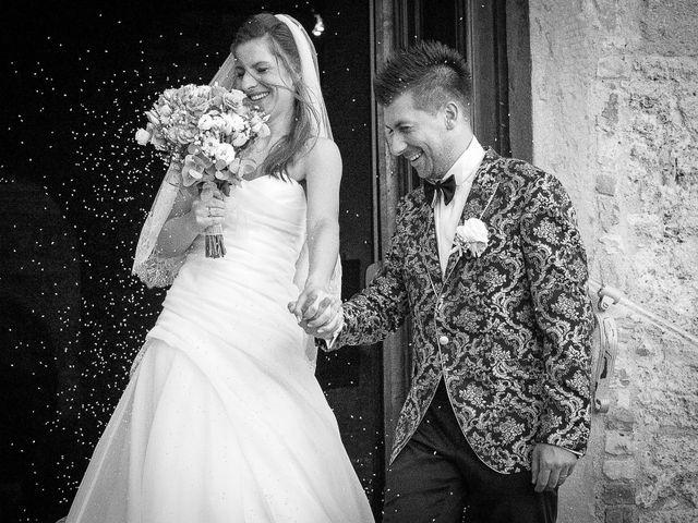 Il matrimonio di Andrea e Andreea a San Gimignano, Siena 20
