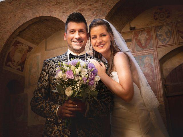 Il matrimonio di Andrea e Andreea a San Gimignano, Siena 21