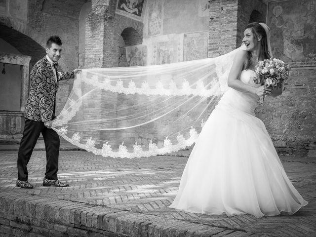 Il matrimonio di Andrea e Andreea a San Gimignano, Siena 22