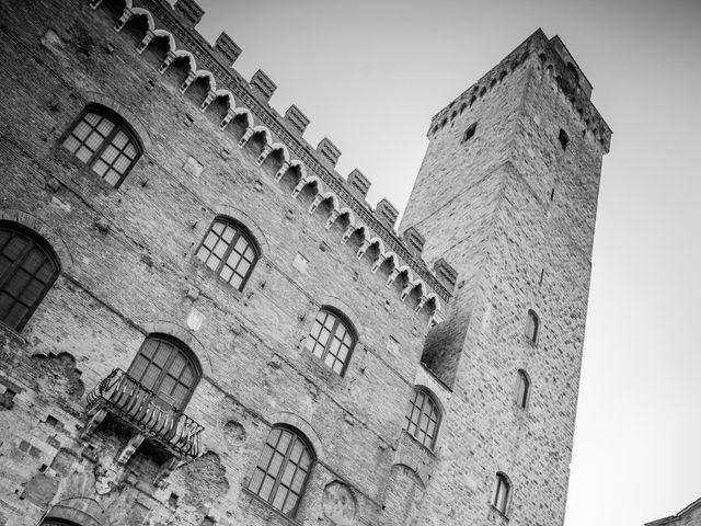 Il matrimonio di Andrea e Andreea a San Gimignano, Siena 23