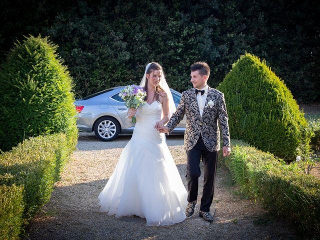 Il matrimonio di Andrea e Andreea a San Gimignano, Siena 24