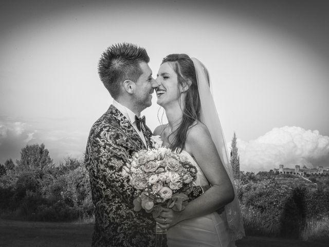 Il matrimonio di Andrea e Andreea a San Gimignano, Siena 28