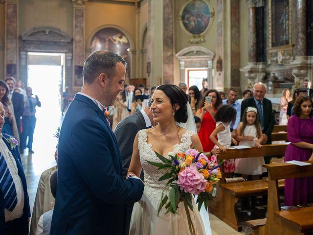 Il matrimonio di Jorge e Claudia a Filago, Bergamo 21
