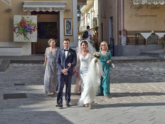 Il matrimonio di Valentina e Giuseppe a Ravello, Salerno 12