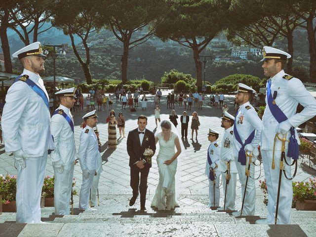 Il matrimonio di Valentina e Giuseppe a Ravello, Salerno 13