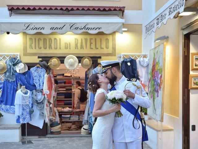 Il matrimonio di Valentina e Giuseppe a Ravello, Salerno 23
