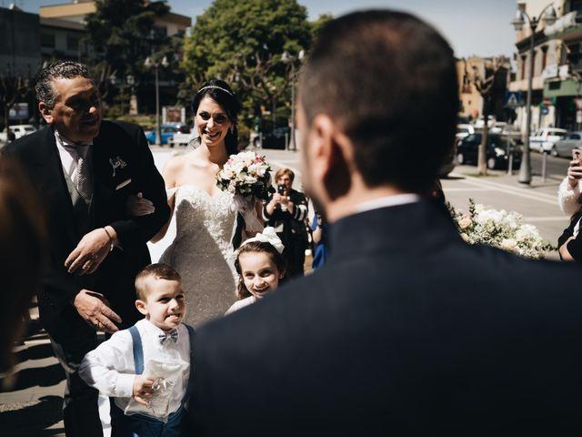 Il matrimonio di Ornella e Carmelo a San Giovanni la Punta, Catania 35