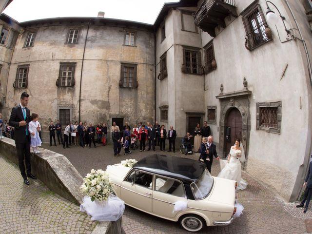Il matrimonio di daniel e francesca a Cedegolo, Brescia 2