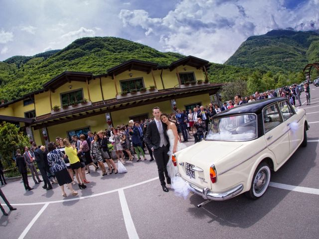 Il matrimonio di daniel e francesca a Cedegolo, Brescia 25