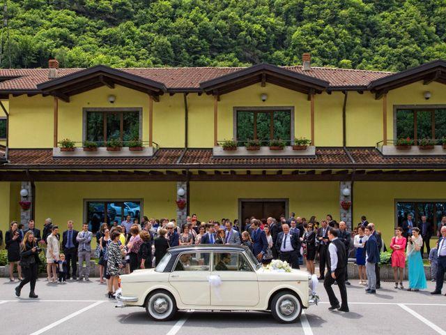 Il matrimonio di daniel e francesca a Cedegolo, Brescia 28