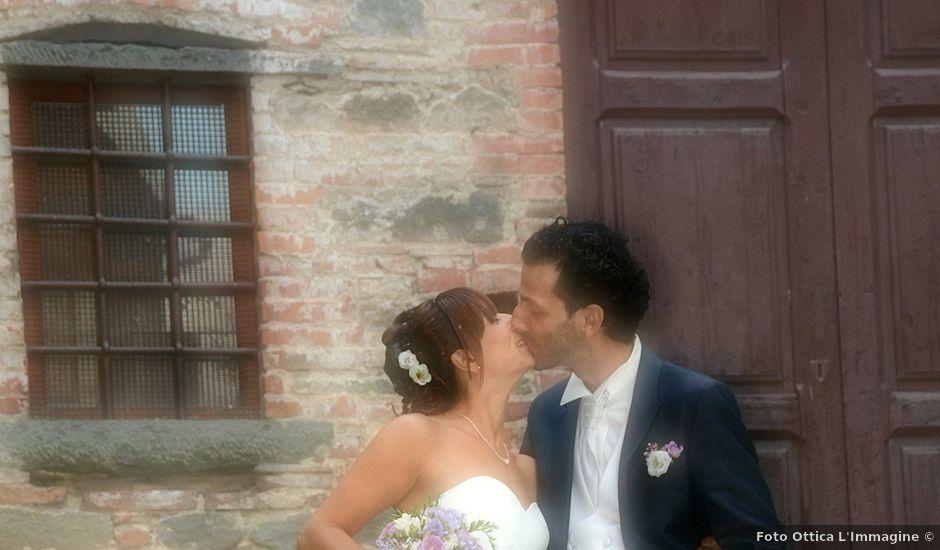 Il matrimonio di Francesco e Maurizia a Villa Basilica, Lucca