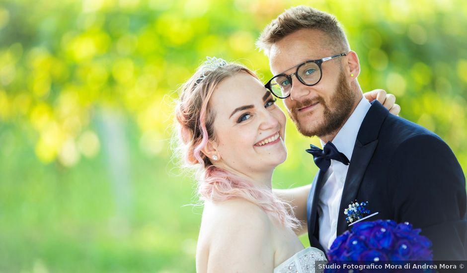 Il matrimonio di Valentino e Maristella a Costermano, Verona