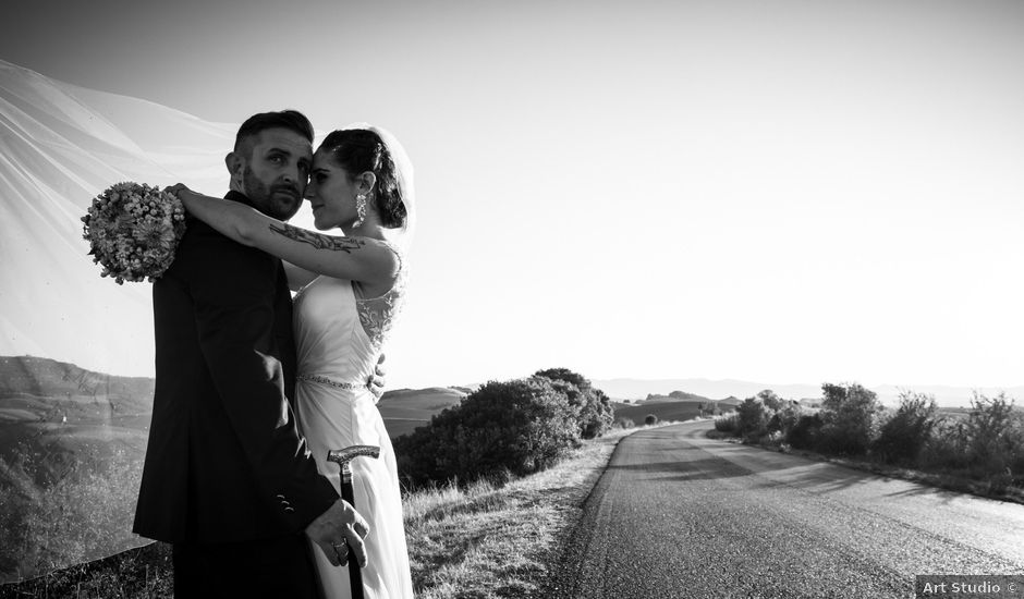 Il matrimonio di Anthea e Daniele a Gambassi Terme, Firenze