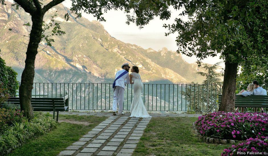 Il matrimonio di Valentina e Giuseppe a Ravello, Salerno