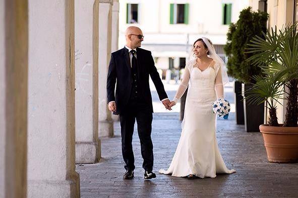 Il matrimonio di Angela e Claudio a Melzo, Milano 1