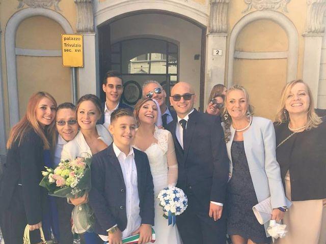 le nozze di Claudio e Angela