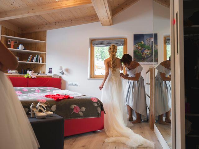 Il matrimonio di Martino e Daniela a Canazei, Trento 9